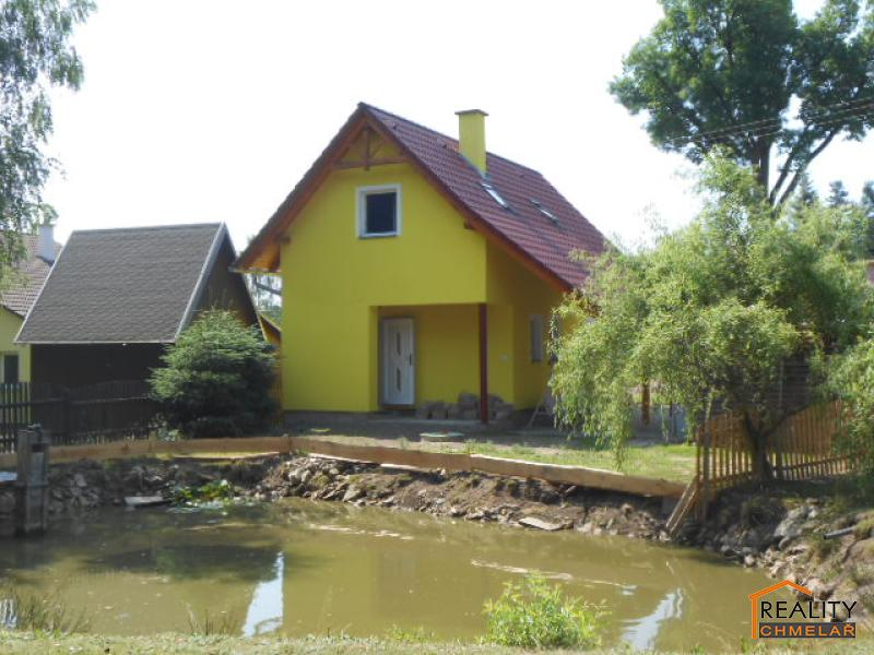 chata s rybníčkem